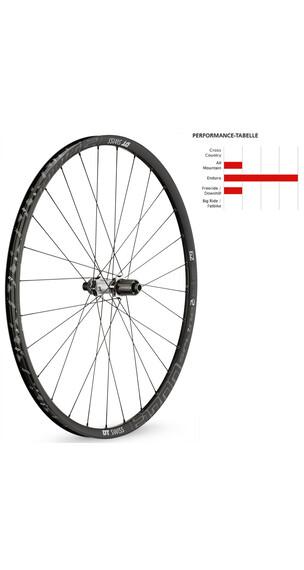 "DT Swiss E 1700 Spline Two wiel 29"" achterwiel aluminium 142/12mm zwart"